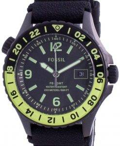 Fossil FB-GMT 큐레이터 티타늄 한정판 쿼츠 LE1107200M 남성용 시계