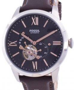 Fossil Townsman 오토매틱 Open Heart 다이얼 ME3061 남성용 시계