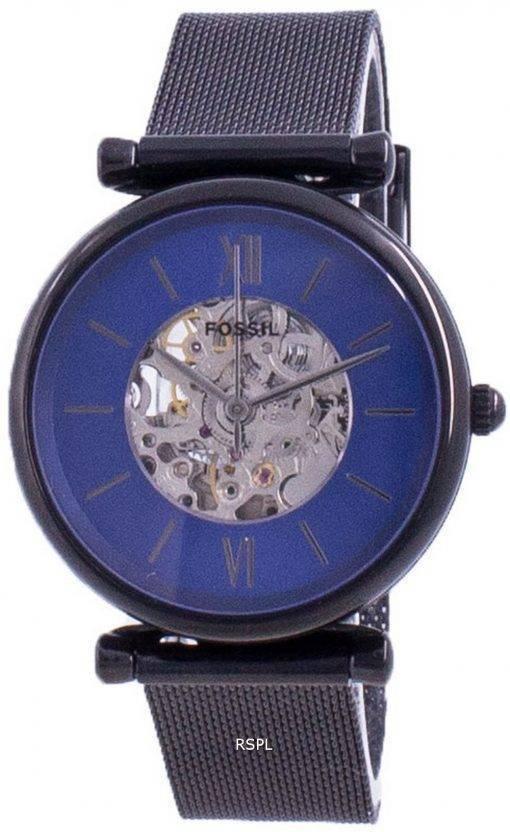 Fossil Carlie 오토매틱 스켈레톤 다이얼 ME3177 여성용 시계