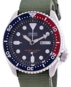 Skagen Fisk 블루 다이얼 스테인레스 스틸 쿼츠 SKW6668100M 남성용 시계