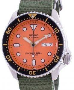 Skagen Holst 크로노 그래프 가죽 스트랩 쿼츠 SKW6653 남성용 시계