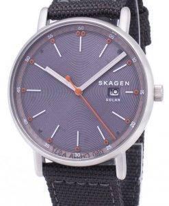 리퍼 비쉬 Skagen Signatur Solar 재활용 쿼츠 SKW6452 남성용 시계
