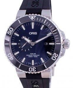 Oris Aquis Small Second Date Automatischer Taucher 01-743-7733-4135-07-4-24-64EB 500M Herrenuhr