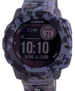 Garmin Instinct Solar Tactical Edition Graphit Camo Silikonband 010-02293-05 Multisportuhr