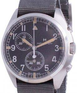 Hamilton Khaki Aviation Pilot Pioneer 크로노 그래프 쿼츠 H76522931100M 남성용 시계