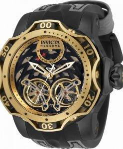 Invicta Reserve Black Dial Automatic Diver 34471 1000M Herrenuhr
