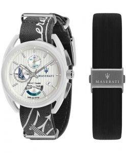 Maserati Trimarano Yacht Timer 크로노 그래프 쿼츠 R8851132002100M 남성용 시계