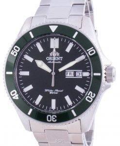 Orient Green Dial Edelstahl Automatik RA-AA0914E19B 200M Herrenuhr