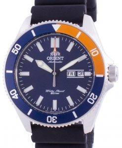 Orient Blue Dial Silikonarmband Automatik RA-AA0916L19B 200M Herrenuhr