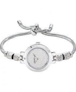 Morellato Drops 다이아몬드 악센트 쿼츠 R0153122560 여성용 시계