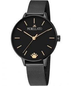 Morellato Ninfa 검은 색 다이얼 쿼츠 R0153141541 여성용 시계