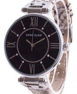 Anne Klein Swarovski Crystal Accented 3229BKCR 쿼츠 여성용 시계