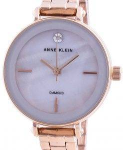 Anne Klein 3386LGRG 쿼츠 다이아몬드 악센트 여성용 시계