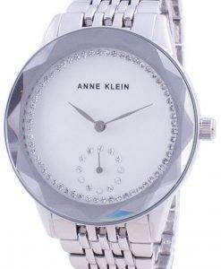 Anne Klein Swarovski Crystal Accented 3507SVSV 쿼츠 여성용 시계