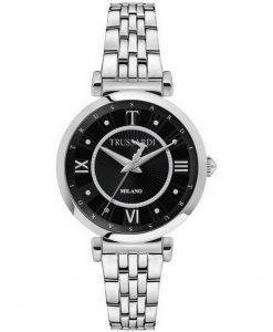 Trussardi T-Twelve Milano 다이아몬드 악센트 쿼츠 R2453138504 여성용 시계